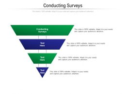 Conducting Surveys Ppt Powerpoint Presentation Portfolio Infographic Template Cpb