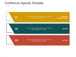 Conference Agenda Template Ppt Powerpoint Presentation Styles Background Designs Cpb