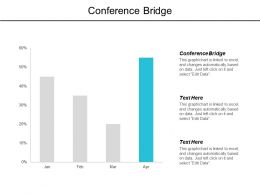 Conference Bridge Ppt Powerpoint Presentation Gallery Sample Cpb