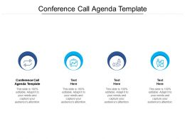 Conference Call Agenda Template Ppt Powerpoint Presentation Icon Picture Cpb