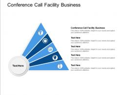 Conference Call Facility Business Ppt Powerpoint Presentation Inspiration Layout Cpb
