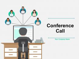 Conference Call Grid Ppt Professional Background Designs Conference Call