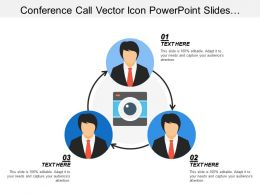 Conference Call Vector Icon