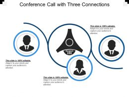 Conference Call With Three Connections