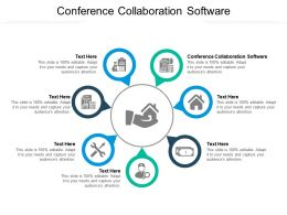 Conference Collaboration Software Ppt Powerpoint Presentation Layouts Vector Cpb