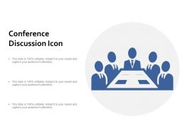 Conference Discussion Icon