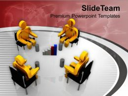 Conference Meeting On Business Development PowerPoint Templates PPT Themes And Graphics 0213