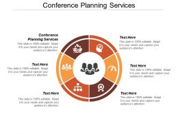 Conference Planning Services Ppt Powerpoint Presentation File Example Cpb