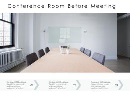 Conference Room Before Meeting