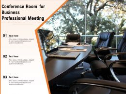 Conference Room For Business Professional Meeting