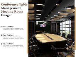 Conference Table Management Meeting Room Image