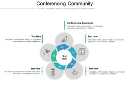 Conferencing Community Ppt Powerpoint Presentation Model Files Cpb