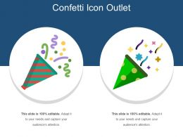 Confetti Icon Outlet