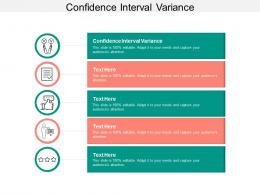 Confidence Interval Variance Ppt Powerpoint Presentation Portfolio Introduction Cpb