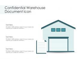Confidential Warehouse Document Icon
