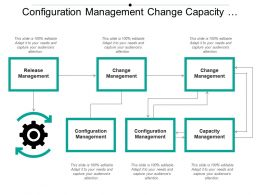 Configuration Management Change Capacity Release Boxes