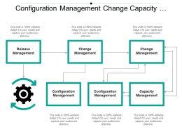 Configuration Management Change Capacity Release Boxes