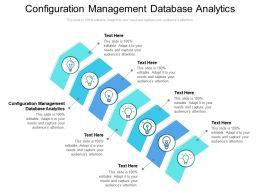 Configuration Management Database Analytics Ppt Infographics Format Cpb