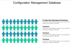 Configuration Management Database Ppt Powerpoint Presentation Summary Objects Cpb