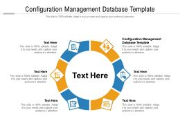 Configuration Management Database Template Ppt Powerpoint Presentation Styles Outline Cpb