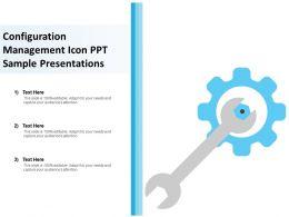configuration_management_icon_ppt_sample_presentations_Slide01