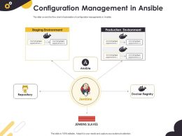 Configuration Management In Ansible Production Environment Ppt Powerpoint Layouts