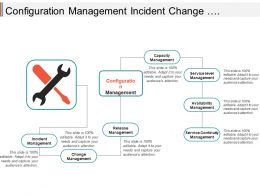 Configuration Management Incident Change Release Capacity