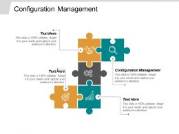 Configuration Management Ppt Powerpoint Presentation Infographics Infographic Template Cpb