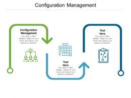 Configuration Management Ppt Powerpoint Presentation Pictures Deck Cpb