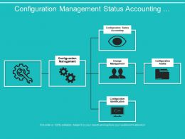 Configuration Management Status Accounting Boxes Structure