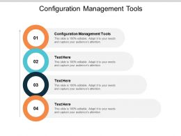 Configuration Management Tools Ppt Powerpoint Presentation Infographic Cpb