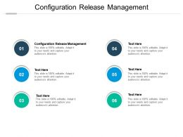 Configuration Release Management Ppt Powerpoint Presentation File Graphics Download Cpb