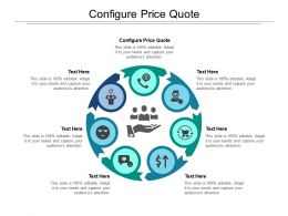 Configure Price Quote Ppt Powerpoint Presentation Diagram Ppt Cpb
