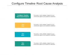 Configure Timeline Root Cause Analysis Ppt Powerpoint Presentation Icon Slideshow Cpb