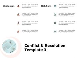 Conflict And Resolution Template Technology Ppt Powerpoint Presentation Pictures
