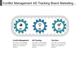 Conflict Management Ad Tracking Brand Marketing Branding Plans Cpb