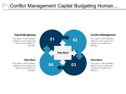 Conflict Management Capital Budgeting Human Resources Information Systems Cpb