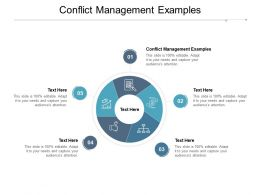 Conflict Management Examples Ppt Powerpoint Presentation Portfolio Cpb