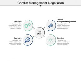 Conflict Management Negotiation Ppt Powerpoint Presentation File Background Image Cpb