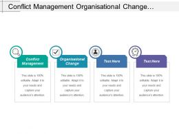 Conflict Management Organizational Change Venture Capital Investment Management Cpb