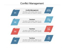 Conflict Management Ppt Powerpoint Presentation Outline Structure Cpb
