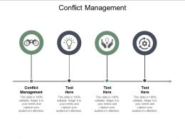 Conflict Management Ppt Powerpoint Presentation Pictures Clipart Images Cpb