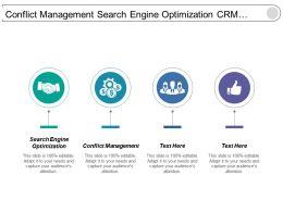 conflict_management_search_engine_optimization_crm_project_management_cpb_Slide01