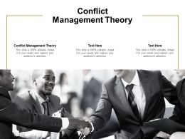 Conflict Management Theory Ppt Powerpoint Presentation Inspiration Mockup Cpb