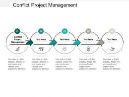 Conflict Project Management Ppt Powerpoint Presentation File Example Topics Cpb