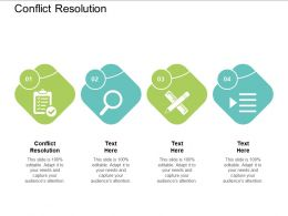 Conflict Resolution Ppt Powerpoint Presentation Show Aids Cpb