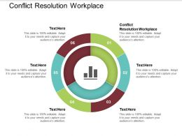 Conflict Resolution Workplace Ppt Powerpoint Presentation Icon Inspiration Cpb