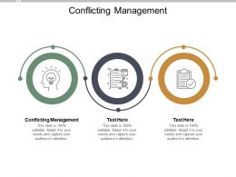 Conflicting Management Ppt Powerpoint Presentation Summary Infographic Cpb