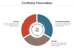 Conflicting Personalities Ppt Powerpoint Presentation Pictures Design Inspiration Cpb