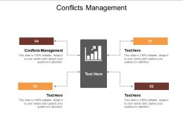 Conflicts Management Ppt Powerpoint Presentation Layouts Graphic Images Cpb